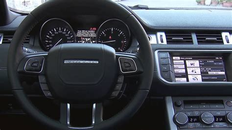 Range Rover Inside by 2014 Range Rover Evoque 9 Speed Interior Review