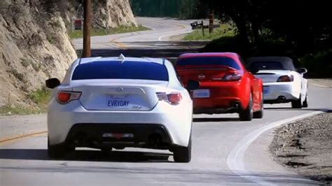 Scion Fr-s Pitted Against Oldtimers Rx-8 And S2000