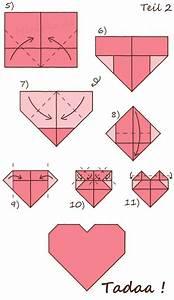 Origami Für Anfänger : faltanleitung origamiherz origami herz origami und diy ~ A.2002-acura-tl-radio.info Haus und Dekorationen