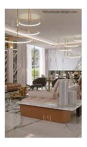 Luxury modern villa interior design in Dubai UAE|Fancy ...