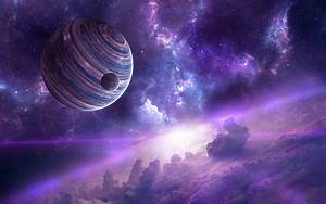Wallpaper Planets, Nebula, HD, Space, #6342