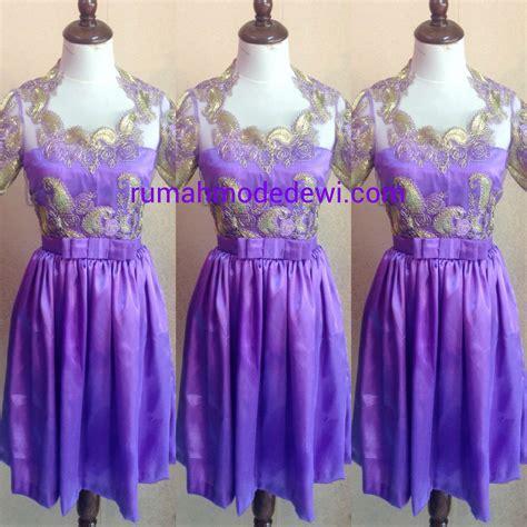 mini dress satin ungu  belt pita