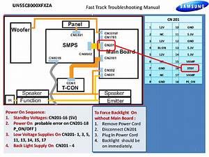 Samsung Un55c8000xfxza Fast Track Guide Service Manual