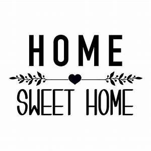 Bilder Home Sweet Home : sticker home sweet home affaires de famille ~ Sanjose-hotels-ca.com Haus und Dekorationen
