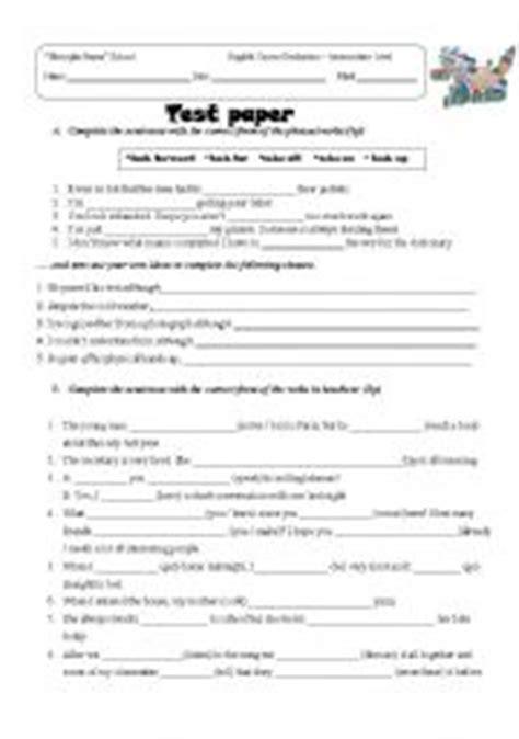 english worksheets evaluation grade 8