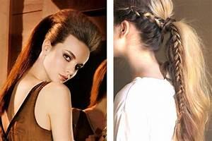 Coiffure Queue De Cheval : queue de cheval 10 id es de coiffures originales ~ Melissatoandfro.com Idées de Décoration