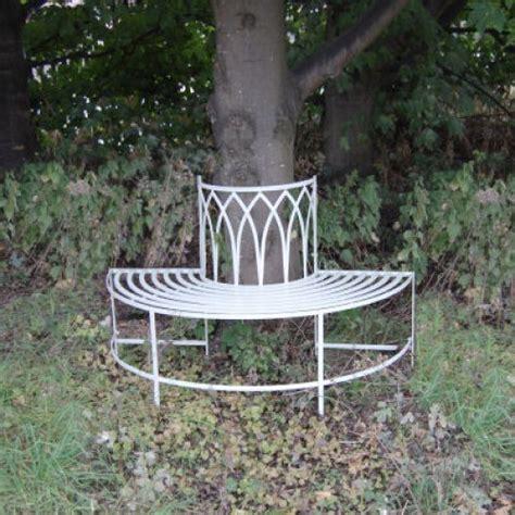 shabby chic garden bench shabby chic gothic tree seat garden benches savvysurf co uk