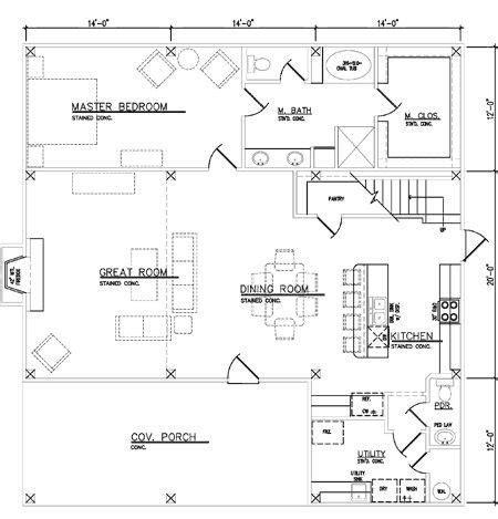 pole barn house plans  basement  home plans design
