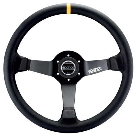 Steering Wheel by Sparco 325 Steering Wheel Black Suede 350mm Diameter
