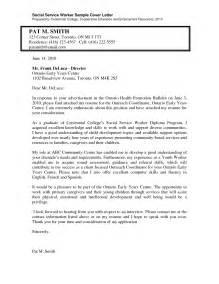 sle cover letter for social work resume hospital social worker cover letter exle adjudicator cover letters trainee social worker