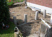 Unterbau Für Holzterrasse : bauanleitung einer holzterrasse ~ Markanthonyermac.com Haus und Dekorationen