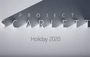 Project Scarlett  Microsoft Confirms Upcoming Xbox Successor