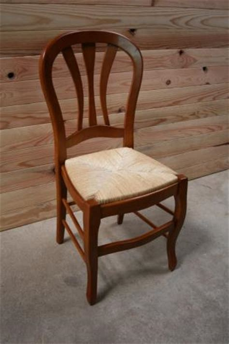 chaise merisier chaise de style louis philippe en merisier massif