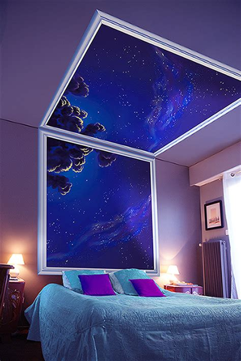 ciel étoilé chambre le belmon déco ciel mon plafond