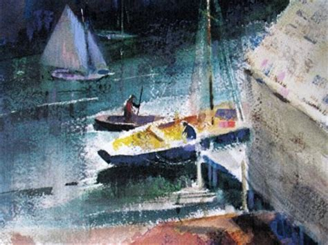 Ebay Boats Rochester Ny by Harbor Watercolor By Ralph Avery Poster Print 14x18 Quot Ebay