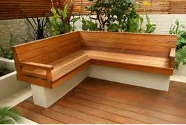 Outdoor Patio Furniture With Bench Seating by Garden Bench Design Plans PDF Woodworking