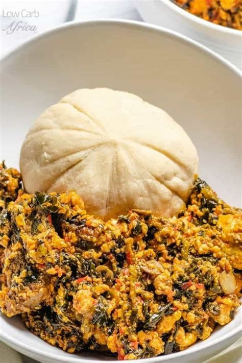 Egusi soup is a favorite soup in western africa. Egusi Soup | Low Carb Africa