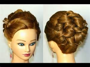 Prom Curly Updo Hairstyles for Medium Hair
