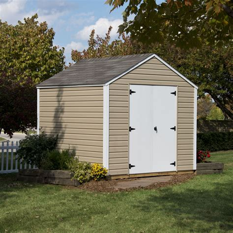 plastic sheds lowes hawthorne 8ft x 8ft heartland industries