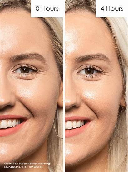 Foundation Skin Clarins Illusion Natural Lasting Wheat
