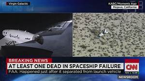 Virgin Galactic spaceship explodes - Oct. 31, 2014