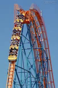 Roller Coaster at Six Flags Magic Mountain Goliath