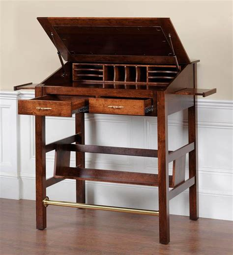 anniston solid wood stand  desk countryside amish furniture