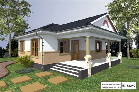 2 Bedroom House Plan  Id 12202  House Designs By Maramani