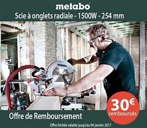 Scie À Onglet Radiale Metabo : la scie onglet radiale kgs 254 m de chez metabo est un outille d 39 une tr s grande precision et ~ Voncanada.com Idées de Décoration