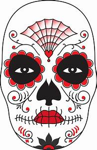 dia de costumes and the dead on pinterest With day of the dead skull mask template