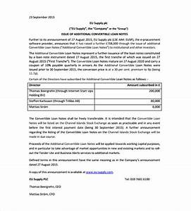 convertible loan note template professional samples With convertible note term sheet template