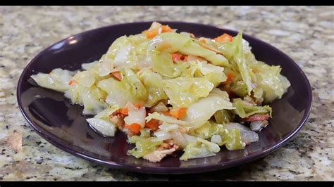 southern cabbage recipe youtube