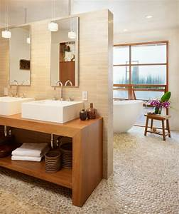 la deco de salle de bain en bois 107 photos archzinefr With salle de bain design avec meuble bois salle de bain