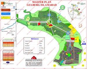 Gulberg Islamabad Map