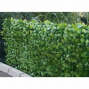 Bambou Artificiel Leroy Merlin : haie artificielle feuilles de rosier en rouleau achat ~ Dailycaller-alerts.com Idées de Décoration