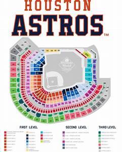 Astros Season Ticket Information Seating Map Houston