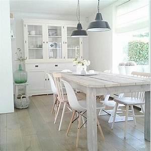 Stühle Im Eames Stil : esszimmer im skandinavischen stil holzoptik eames dsw stuhl in wei holzhaus mint ~ Indierocktalk.com Haus und Dekorationen