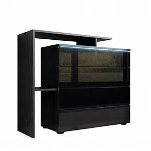 Sideboard Schwarz Hochglanz Günstig : kommode sideboard lissabon v2 in schwarz schwarz hochglanz esszimmerst ~ Indierocktalk.com Haus und Dekorationen