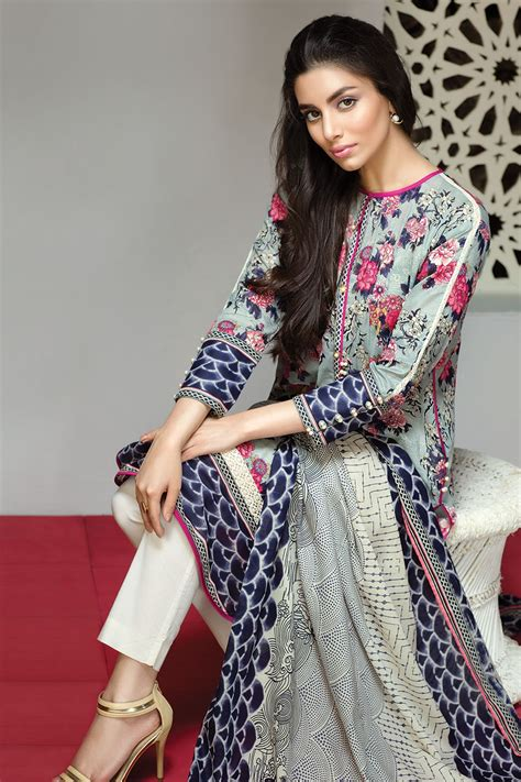 khaadi lawn chiffon eid dresses collection