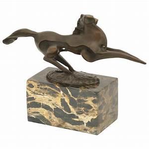 Skulpturen Modern Art : pferde figuren bronze moderne kunst skulptur pferd im ~ Michelbontemps.com Haus und Dekorationen