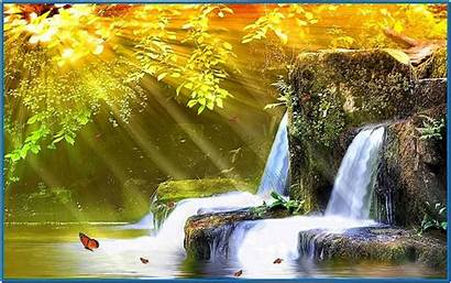 Waterfall Animated Screensaver Screensavers Moving Waterfalls 3d
