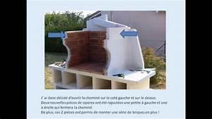 realiser un barbecue en siporex ou beton cellulaire youtube With realiser une cuisine en siporex