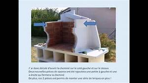 realiser un barbecue en siporex ou beton cellulaire youtube With enduit interieur beton cellulaire