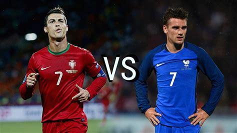 Cristiano Ronaldo Vs Antoine Griezmann  Final Battle Euro