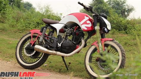 Bajaj Boxer At Simply Modified Photo by Indian Bikes Modified To Cafe Racer Newmotorjdi Co