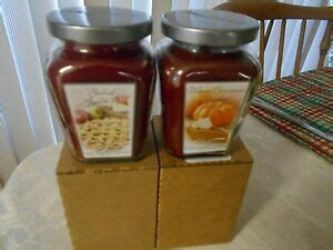 Home Interiors Candles Baked Apple Pie by Home Interior Jar Candles Ebay