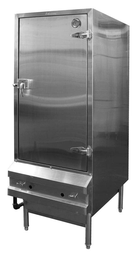 """24"""" Stainless Chinese Gas BBQ Oven Meat Smoker 2 Burners"""