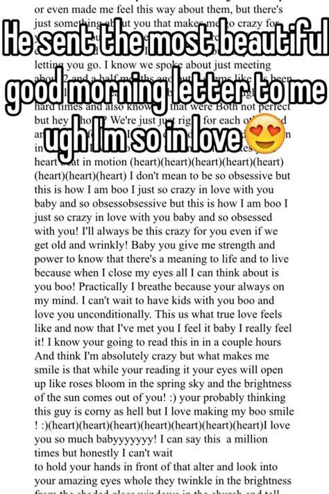 good morning letter tipsenseme