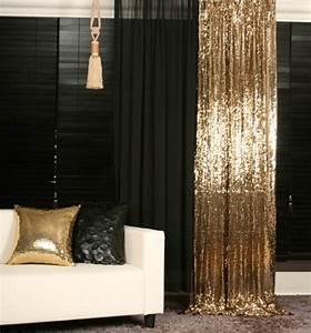 Rideau Rose Gold : des d cors en or floriane lemari ~ Teatrodelosmanantiales.com Idées de Décoration