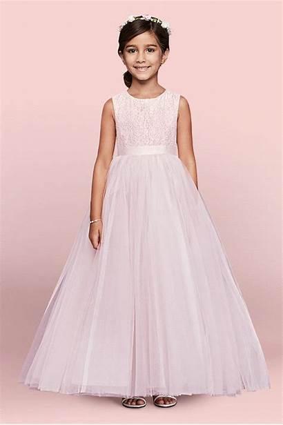 Flower Dresses Weddings Pink Girly Wear Gown